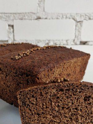Borodino ruginė duonos su kalendromis kepalai